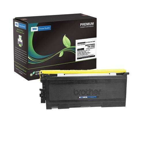 Brother TN350, TN 350, TN-350 Brand New Compatible Black Laser Toner Cartridge by MSE 02-03-3514