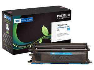 Brother TN-115C, TN115C, TN-135C, TN135C Brand New Compatible High Yield Color(Cyan) Laser Toner Cartridge by MSE 02-03-40116