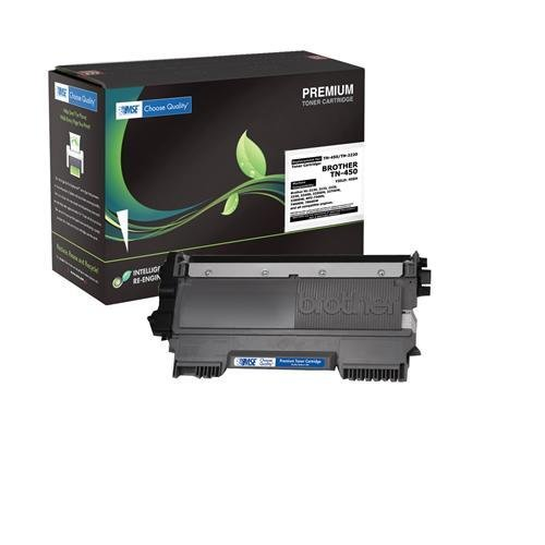 Brother TN-450, TN450, TN-2220, TN2220 Brand New Compatible Laser Toner Cartridge by MSE 02-03-4516
