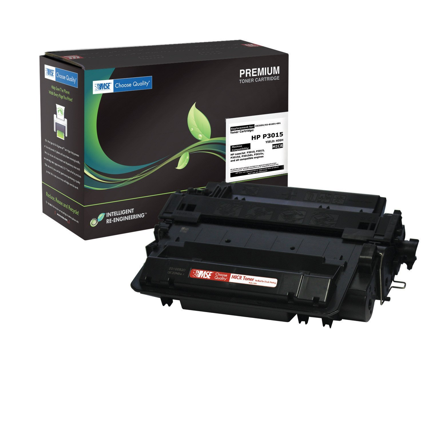HP (Troy Compatible) CE255A, HP 55A, HP 55 MICR Laser Toner Cartridge 02-21-5515