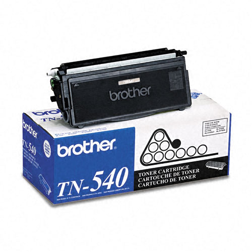 Brother TN540, TN-540, TN 540 Laser Toner Cartridge OEM_TN-540
