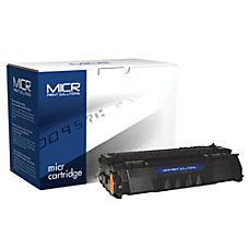 Genuine-New High Yield MICR Toner Cartridge for HP Q5949X (HP 49X) MCR49XM
